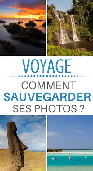 sauvegarder ses photos en voyage : la solution