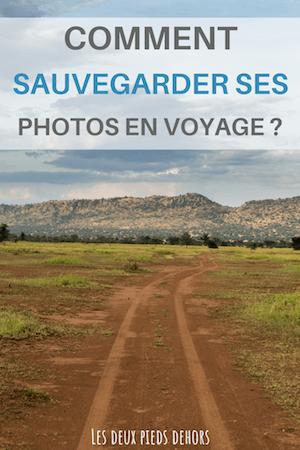sauvegarde photo voyage
