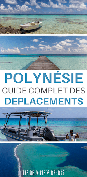 avion et bateau en polynésie