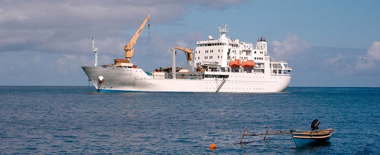 déplacement entre les îles en polynésie