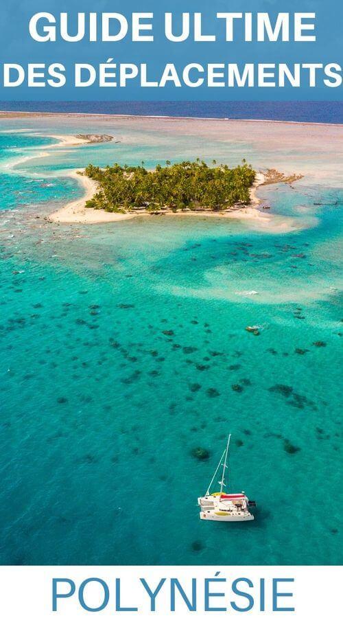 se déplacer entre les îles en avion en Polynésie