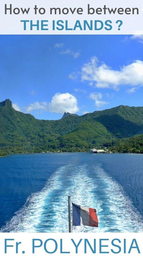 move between the islands in polynesia