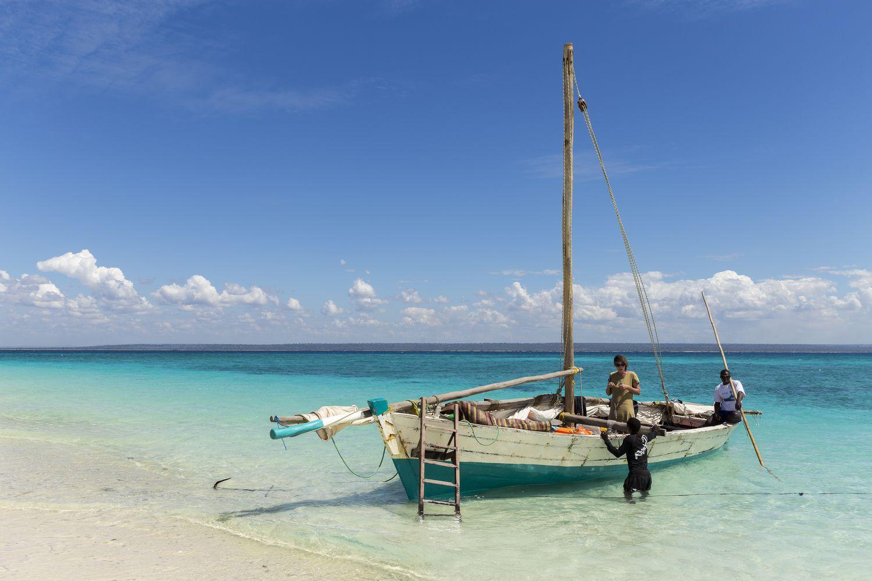 plage de l'île d'ibo