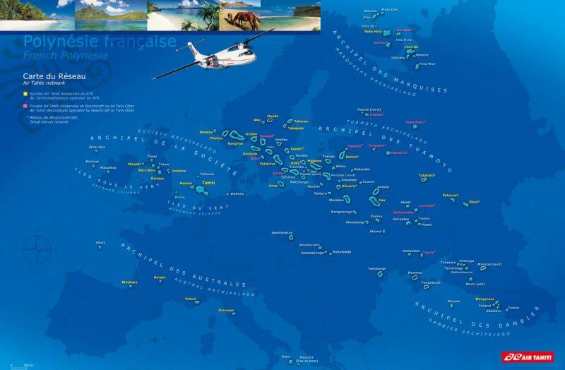 quel itinéraire choisir en polynésie