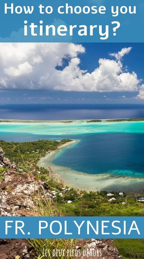 itineraries in french polynesia