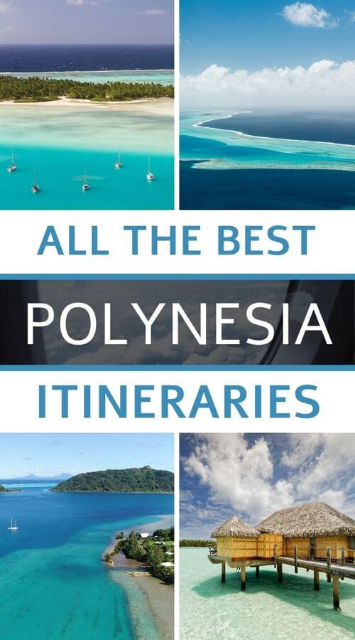 all itineraries in french polynesia