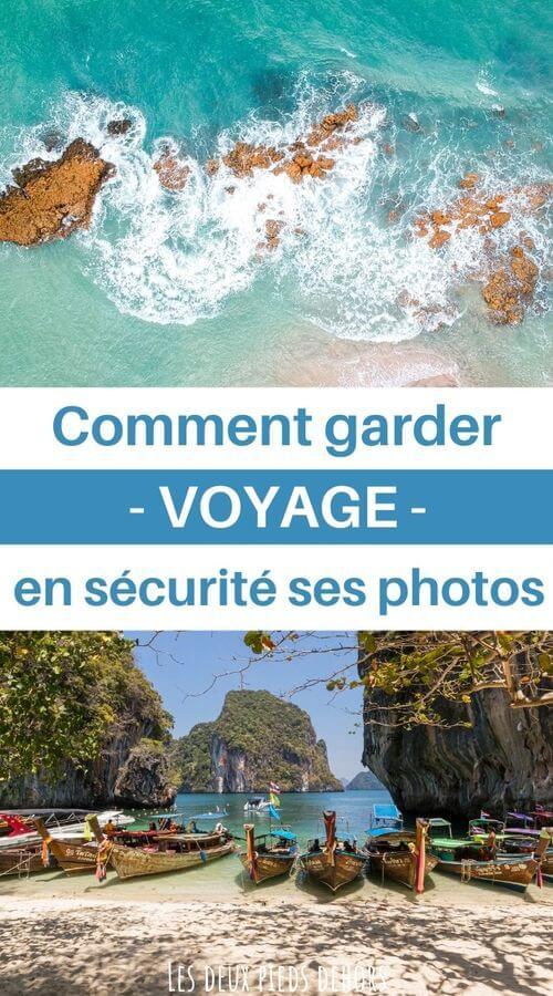 Comment sauvegarder ses photos en voyage