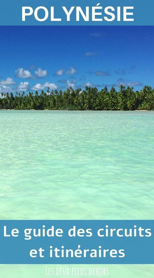 guides des itinéraires en polynésie française