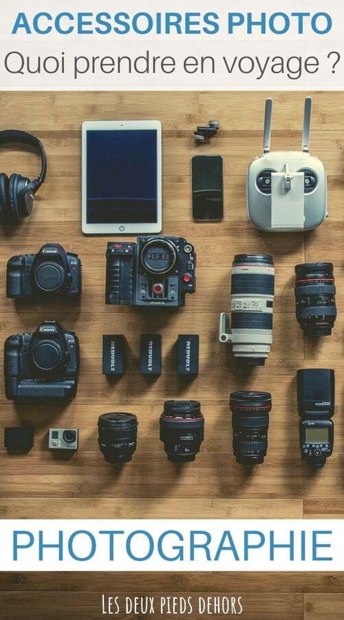 quels accessoires photo prendre en voyage