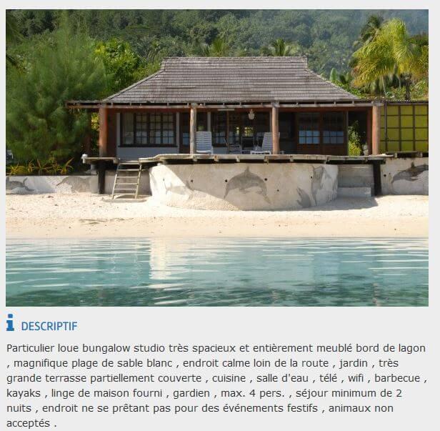 voyage tahiti pas cher