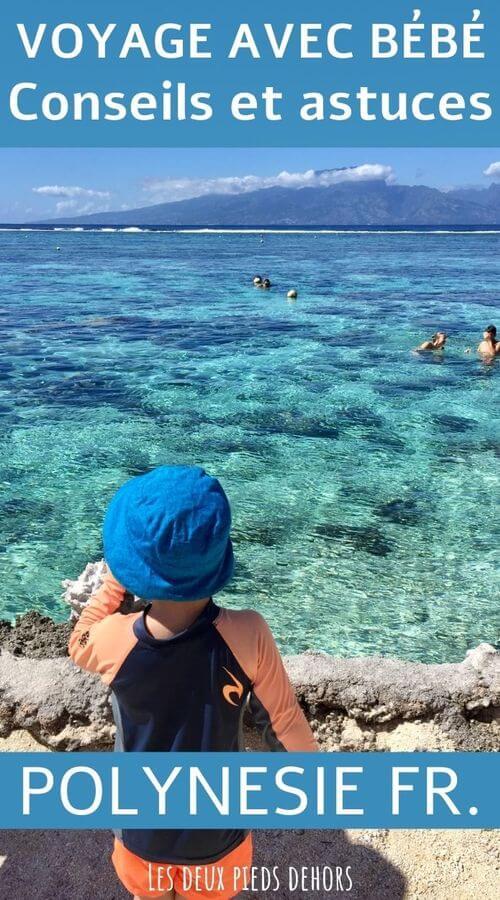 voyage avec un bébé en polynésie française