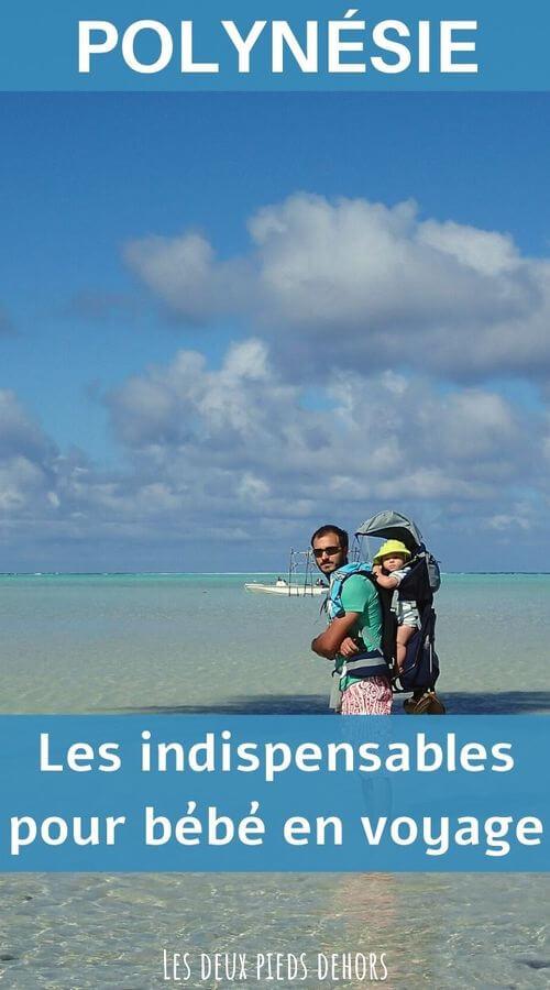 voyager avec un enfant en bas-âge en polynésie
