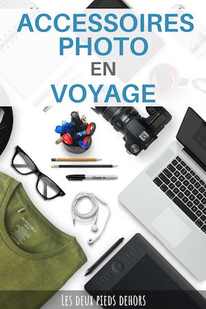 les accessoires photo pour voyager