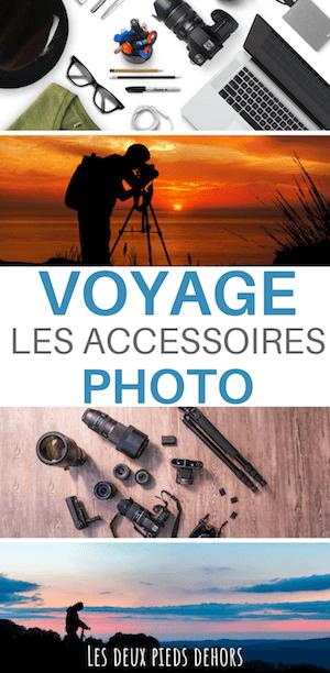accessoires photo en voyage