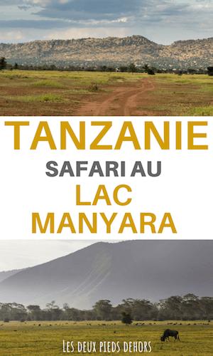 Le lac manyara en tanzanie
