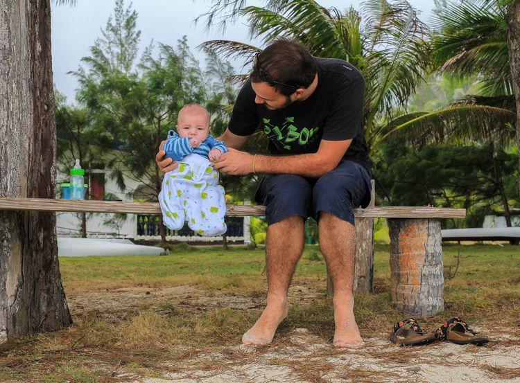 vacances avec bébé en polynésie
