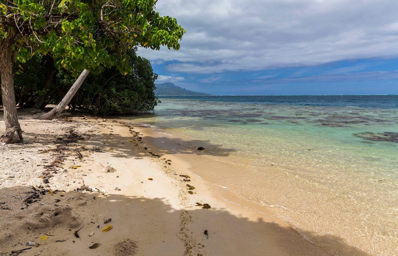 beautiful tahaa island french polynesia