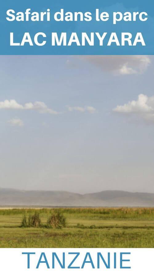 lac manyara tanzanie