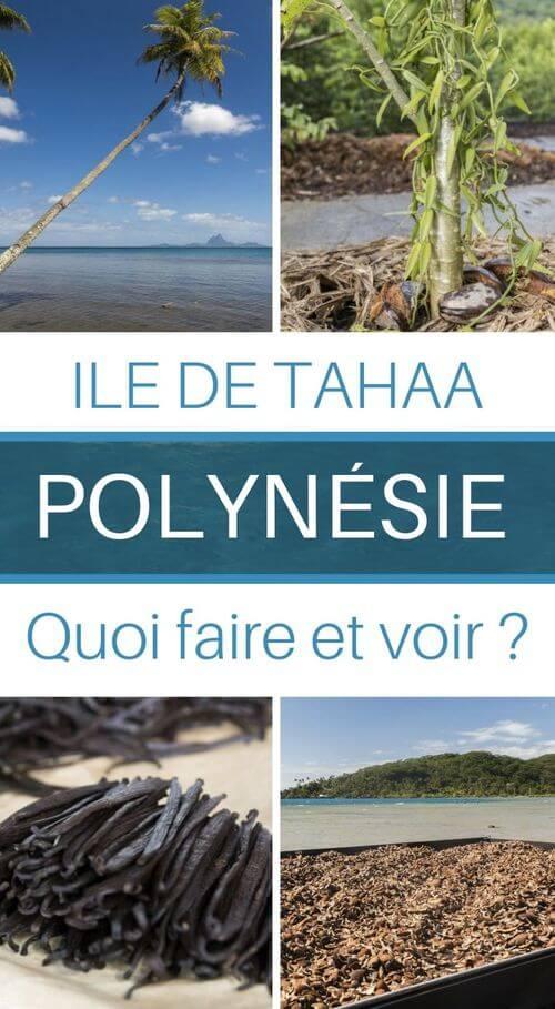 tahaa polynésie