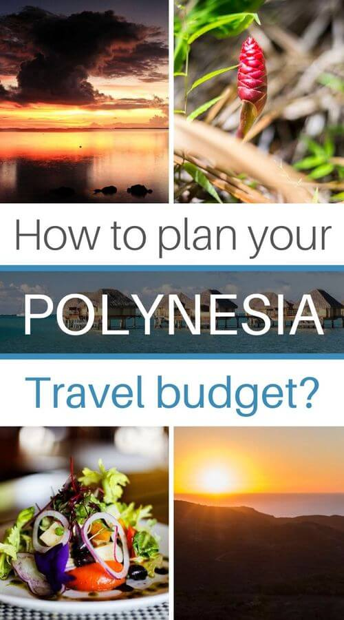 how to plan budget french polynesia