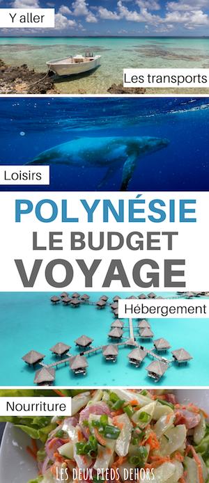budget à prévoir en polynésie