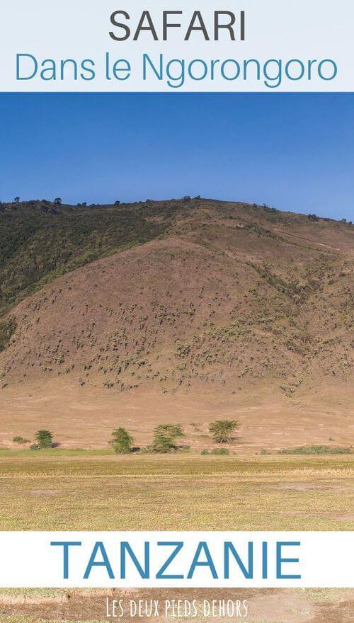 cratère tanzanie ngorongoro
