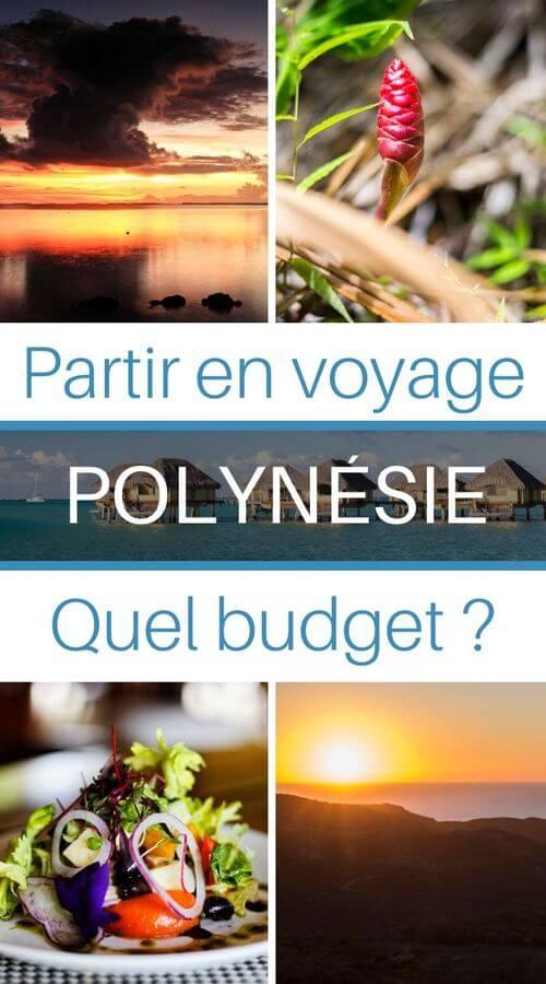 quel budget pour partir en voyage en polynésie