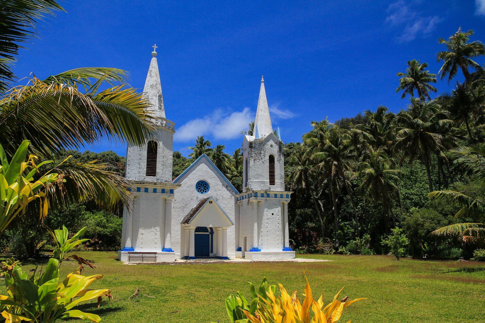 iles des gambiers en polynésie française