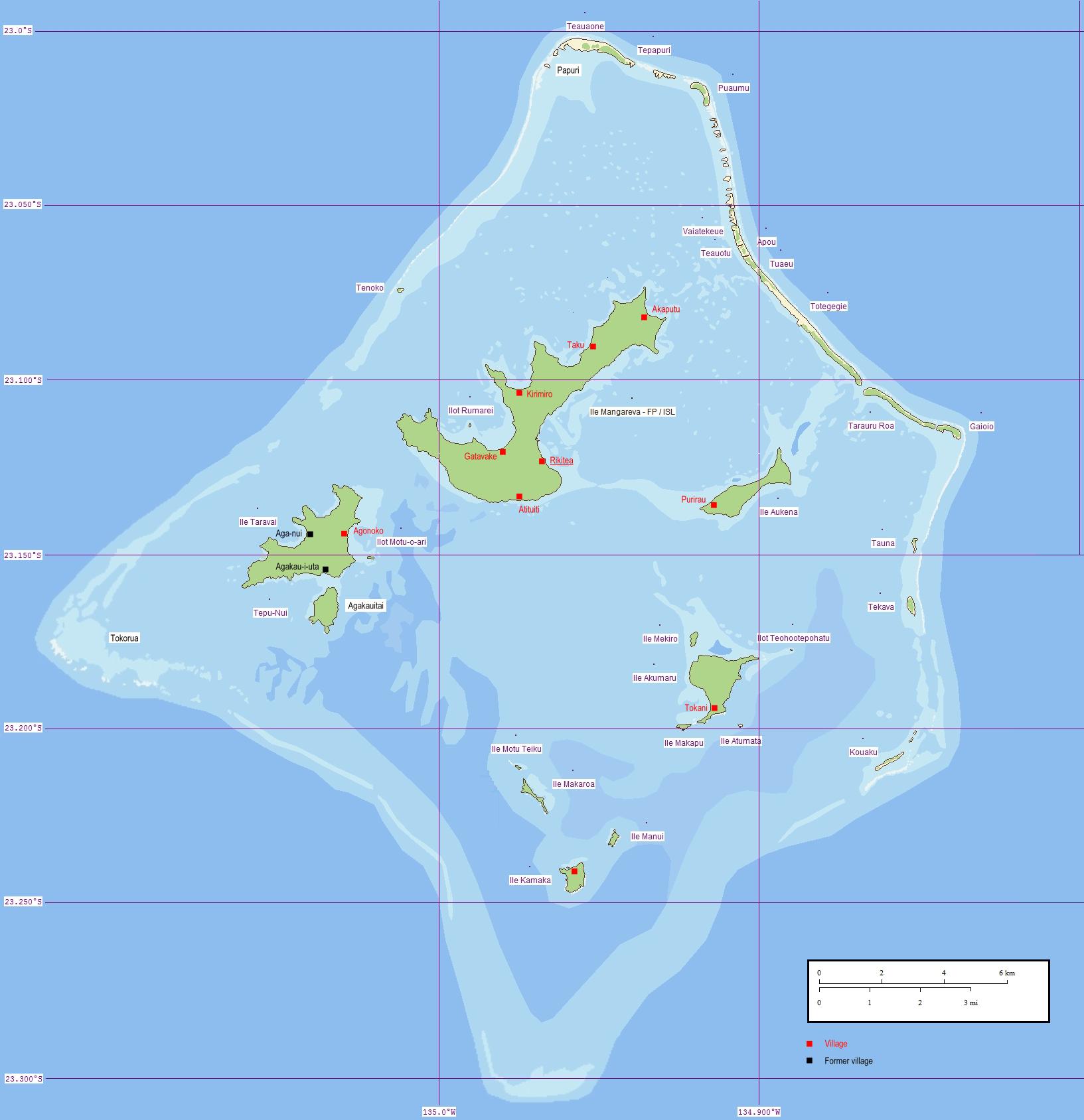 gambier en polynésie française