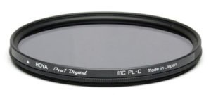 a polarizing filter