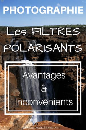 utilisation filtre polarisant