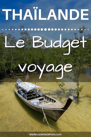 le coût d'un séjour en thaïlande