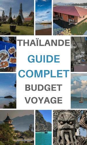 budget voyage thailande