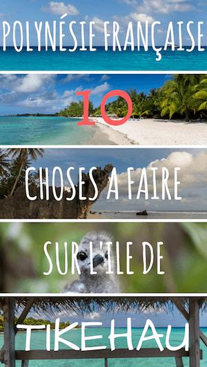 atoll de tikehau en polynésie française
