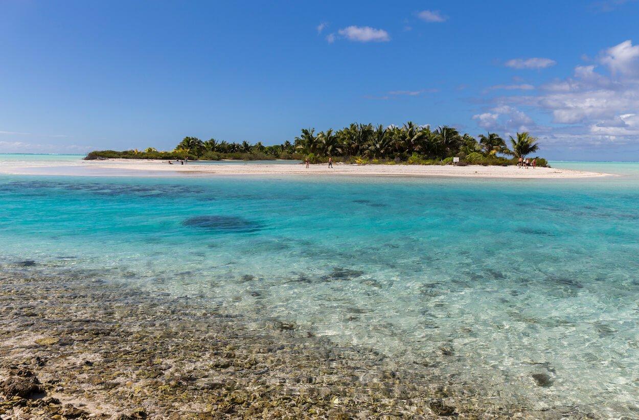 Catamaran à Tetiaroa en Polynésie française