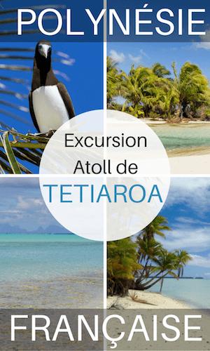 atoll de tetiaroa en catamaran