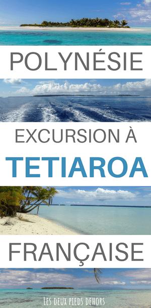 Excursion sur l'Atoll de Tetiaroa en Polynésie française
