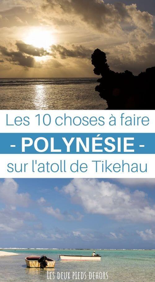 tikehau polynésie