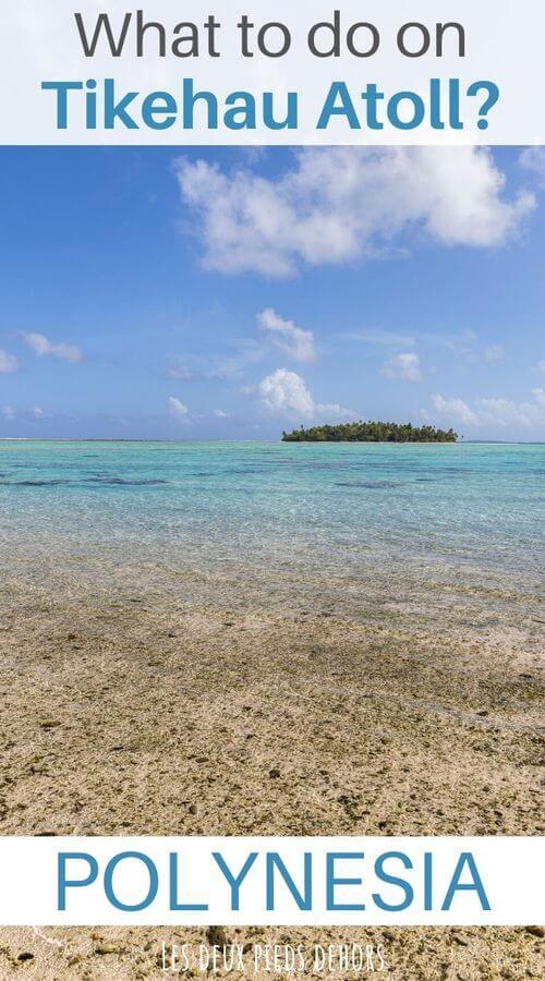 things to do on tikehau atoll on french polynesia