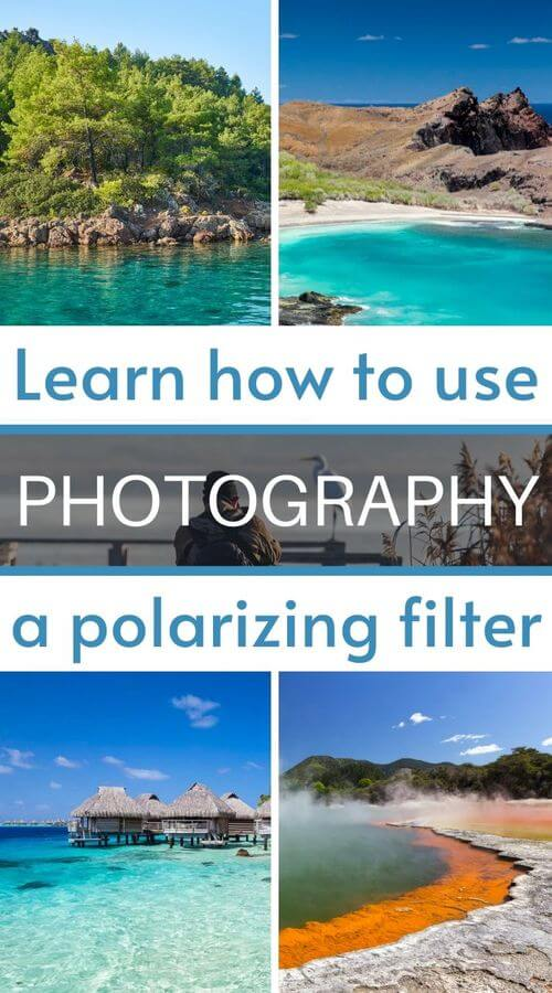 learn how to use polarizing filter