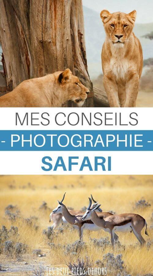 conseils pour un safari photo
