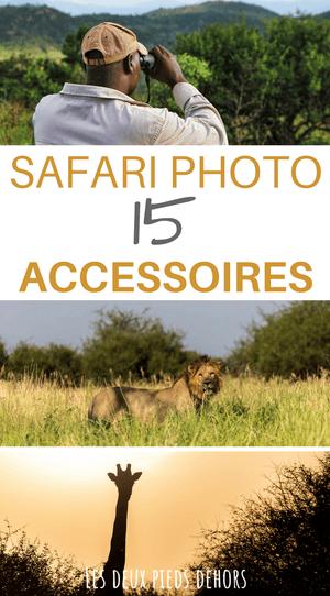 accessoires photo safari