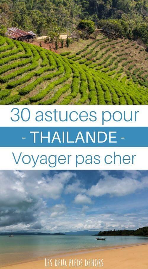 voyager à l'économie en thailande