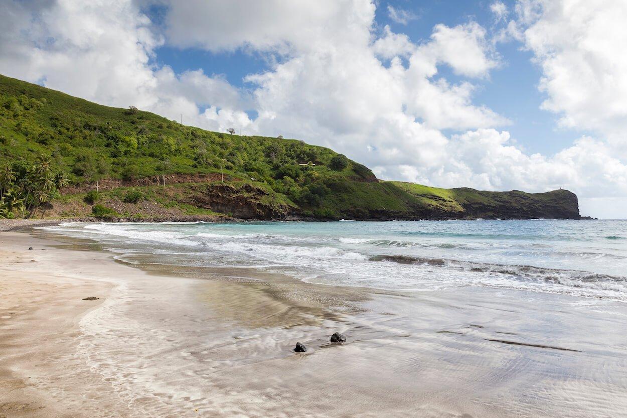 beaches on hiva oa island