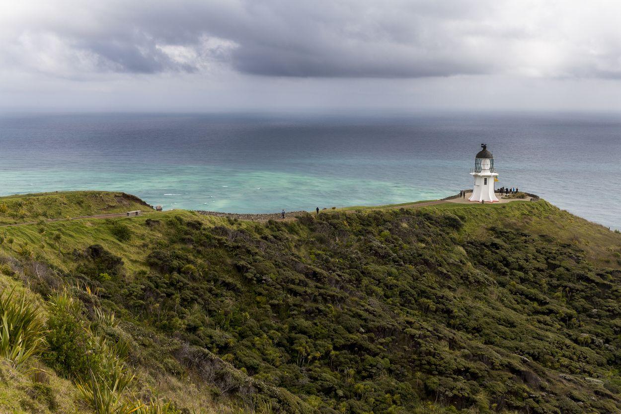 Le Cap reinga au Nord de la Nouvelle-Zélande