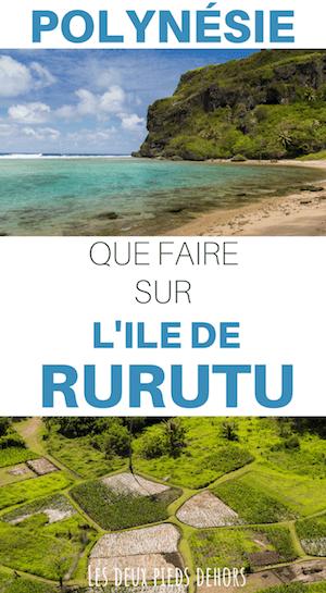 Ile de Rurutu aux îles australes