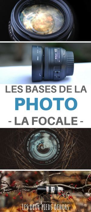 distance focale en photo