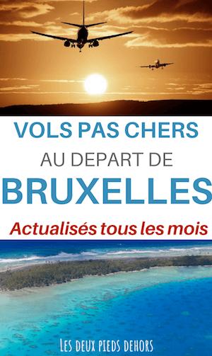 Billet avion pas cher de Bruxelles