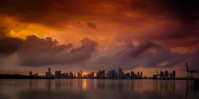 Vols pour Nice Miami pas chers