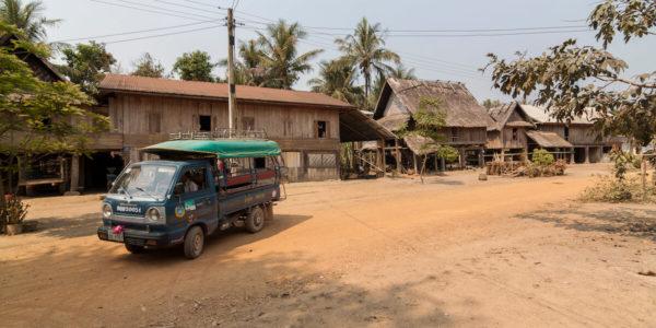 Le coût de la vie au laos : les trajet en bus